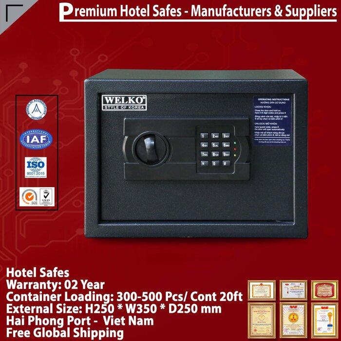 Két Sắt Hotel Safes WELKO HS25AC