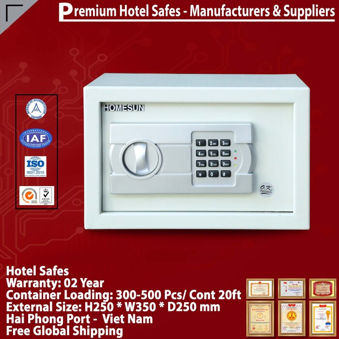 Két Sắt Hotel Safes HOMESUN HS25AC