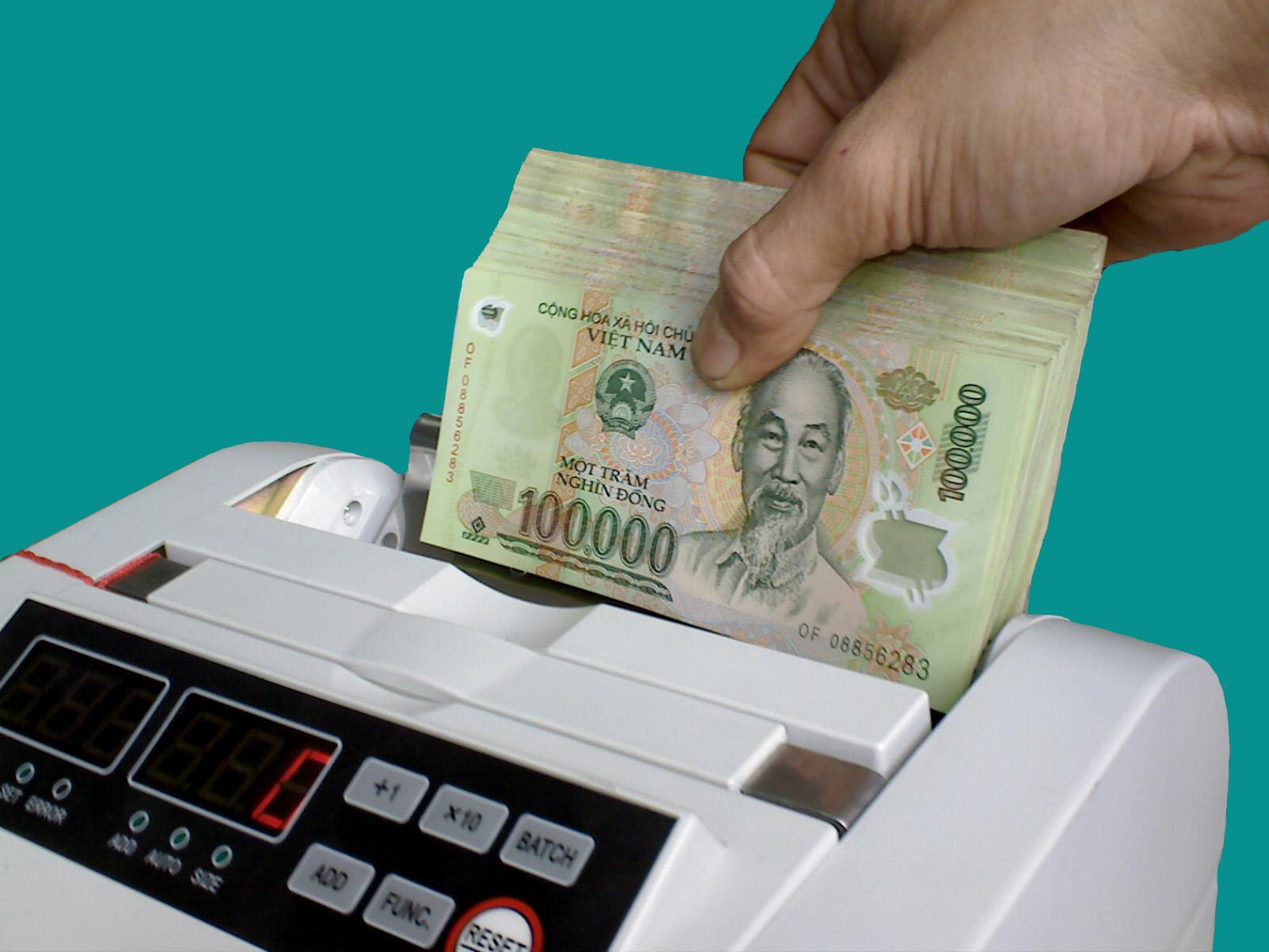 Nguyên lý hoạt động của máy đếm tiền hà nội counter