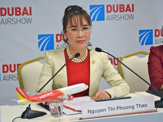 Việc nữ CEO hãng hàng không VietJet Air có tên trong