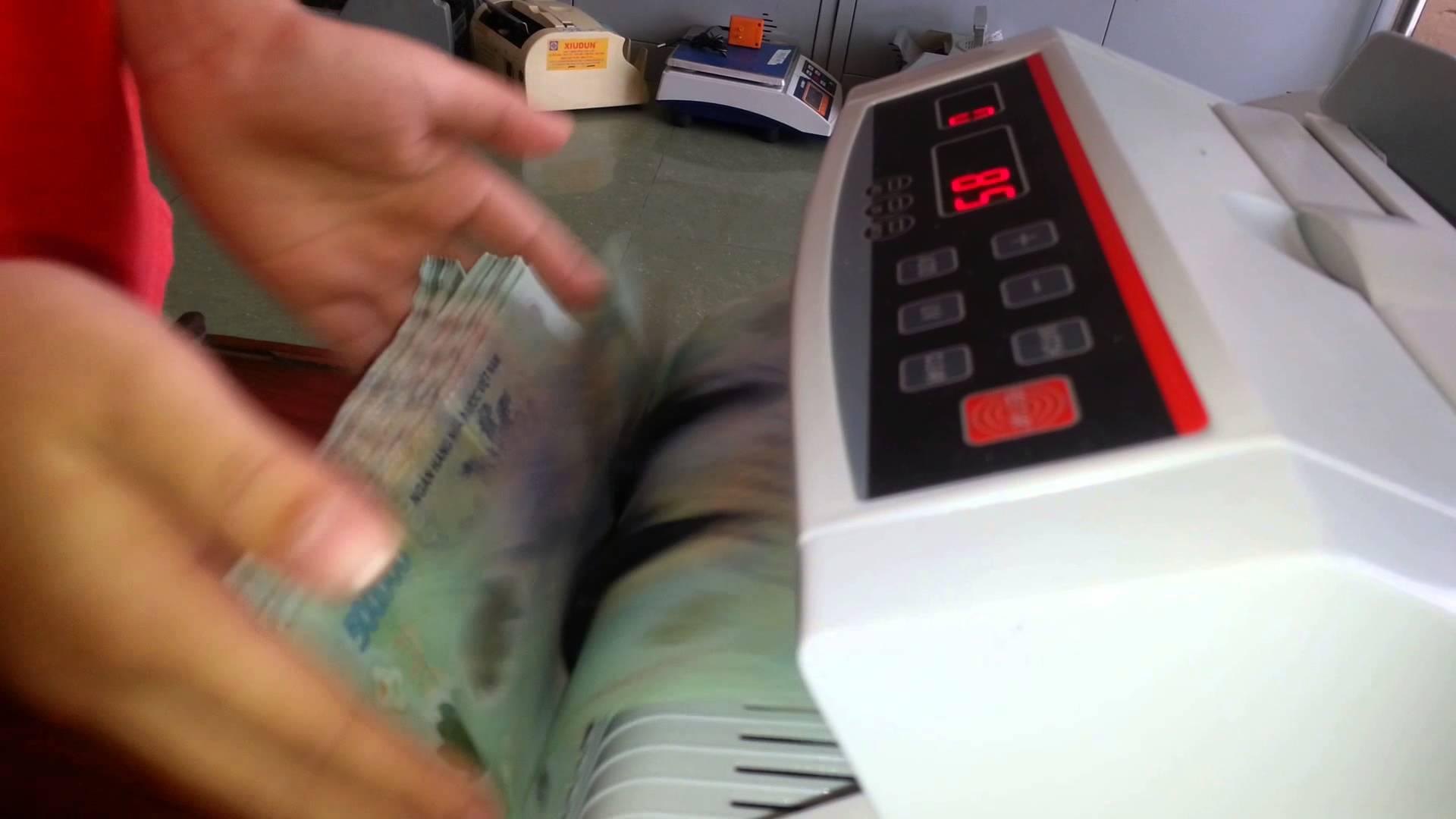 Cách sử dụng Máy đếm tiền Hà Nội đúng cách