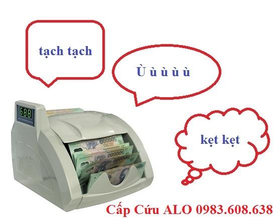 6 dấu hiệu của máy đếm tiền cần được kiểm tra, sửa chữa