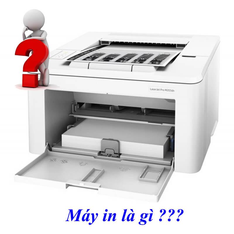 Giải đáp định nghĩa máy in là gì