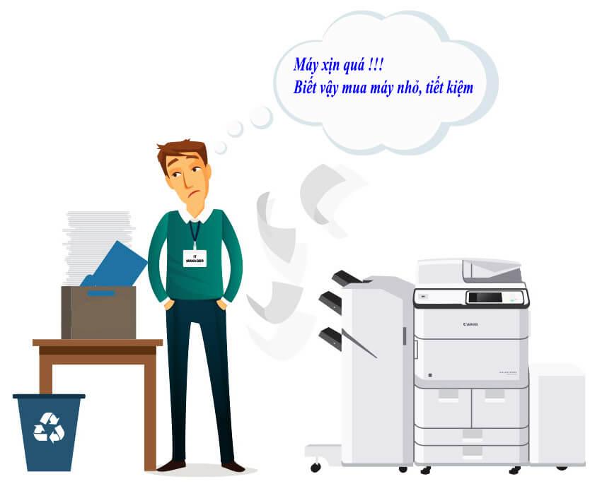 Lựa chọn hợp lý khi mua máy in cho công việc