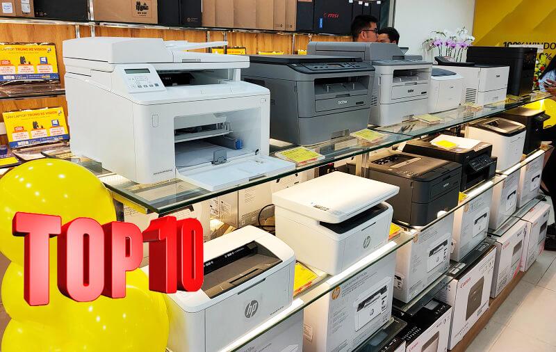 Top 10 mẫu máy in đang rất thịnh hành hiện nay