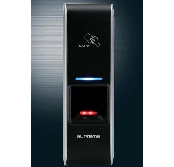 Máy chấm công kiểm soát ra vào, vân tay và thẻ Suprema BioEntry Plus BEPL-OC