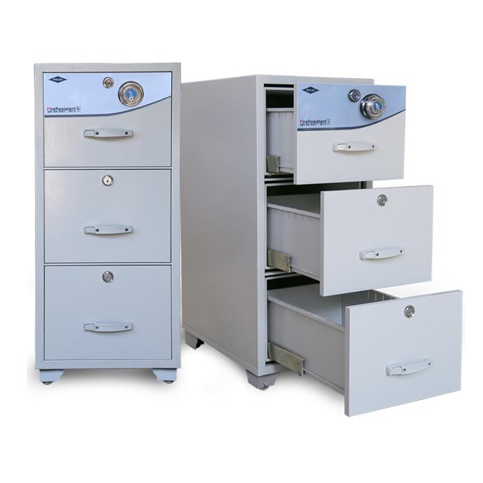 Tủ hồ sơ chống cháy 3 ngăn