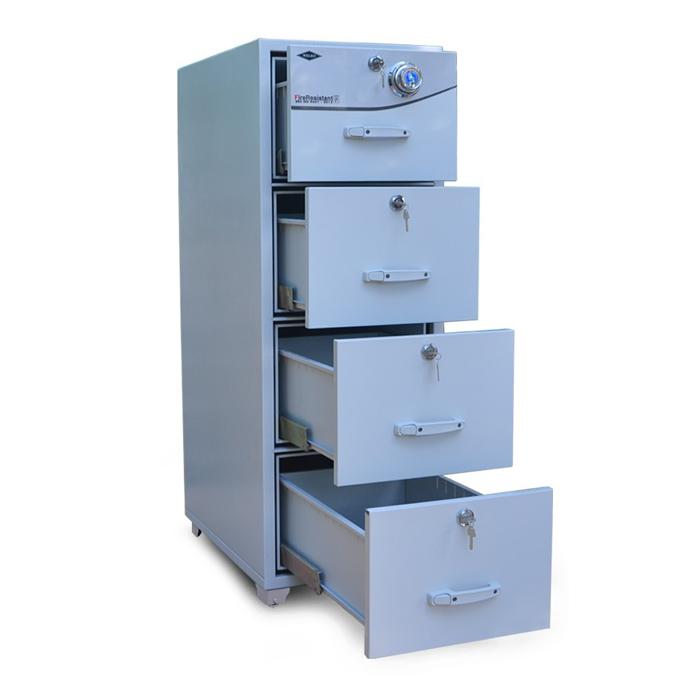 Tủ hồ sơ chống cháy 4 ngăn