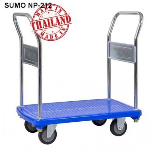 Xe đẩy hàng sàn nhựa Sumo Thái Lan NP-212